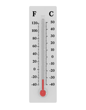 Thermometer Template Reaching Your Goal A Powerpoint Template From