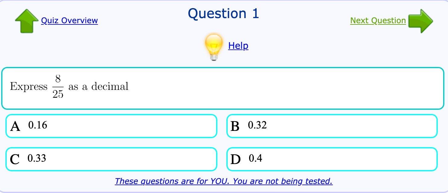 Mathopolis Question Database