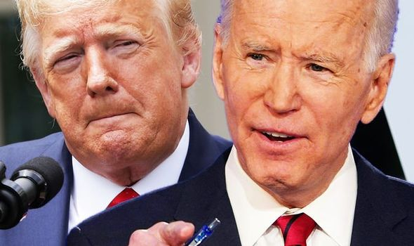 Donald Trump Joe Biden US Election odds polls 1299886