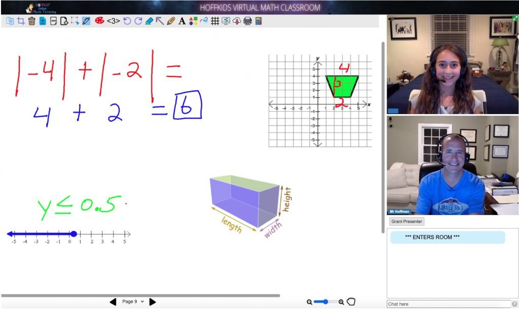 Hoffkids Virtual Math Classroom2